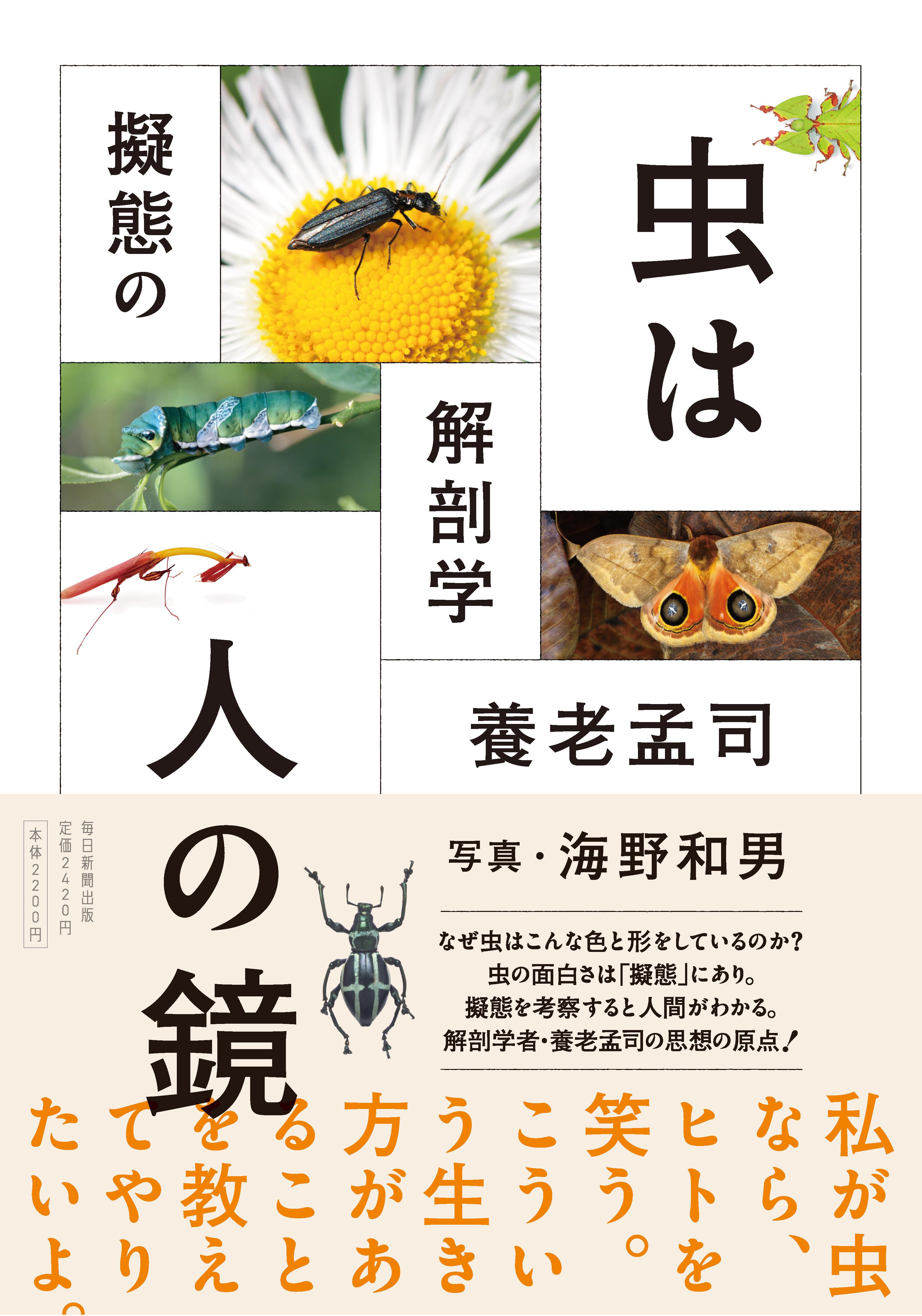 書影:虫は人の鏡 擬態の解剖学